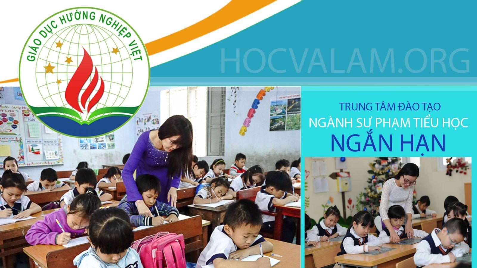 Đào tạo ngành sư phạm tiểu học