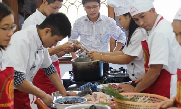 đào tạo nấu ăn tại TPHCM