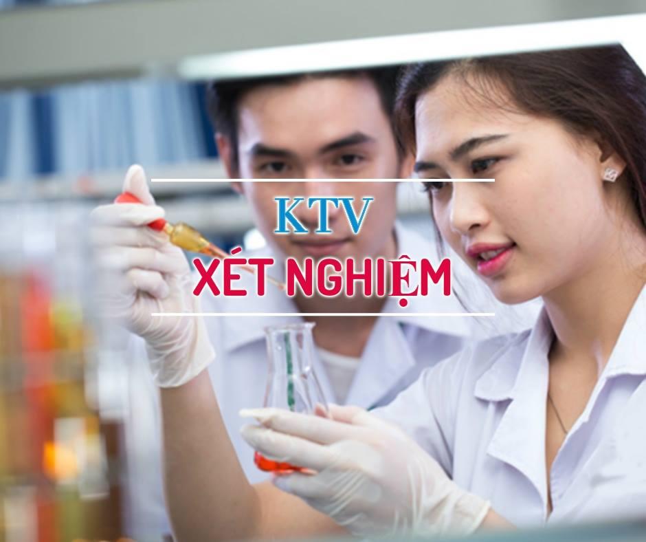 Tuyển sinh đào tạo cấp chứng chỉ Kỹ thuật viên Xét nghiệm (KTV Xét nghiệm) tại tphcm